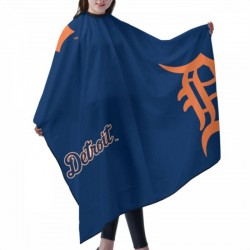 Durable Detroit Tigers Haircut apron 55*66 in #175853 with Snap Closure , for hair cutting shawl.