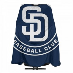 Lightweight MLB San Diego Padres Haircut apron 55*66 in #184507 Barber cape is made of polyester,