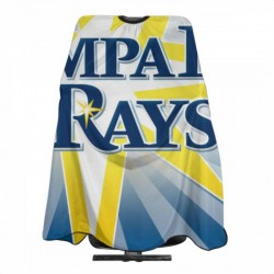 Dainty Tampa Bay Rays Haircut apron 55*66 in #179873 Hair Cutting, Waterproof Stain resistant